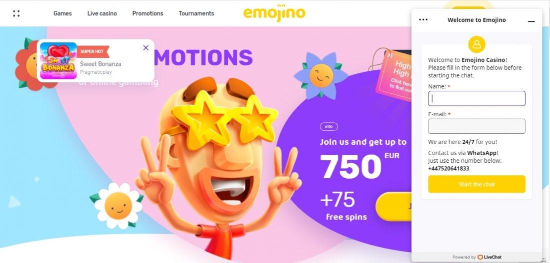 Emojino Customer Support