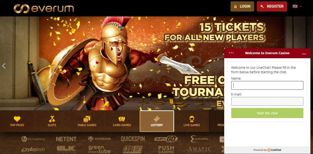 Everum Casino Customer Support