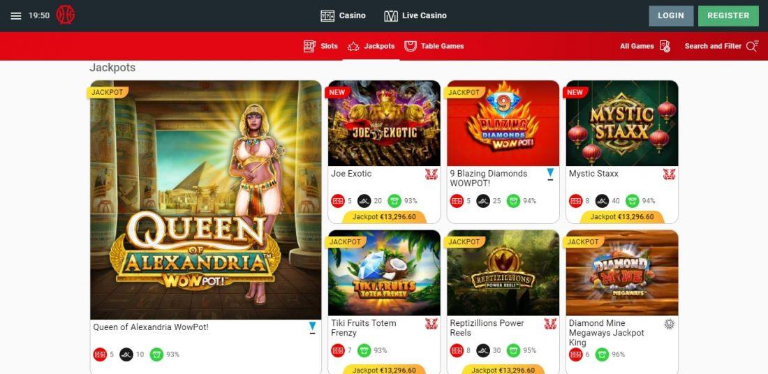 Genting Casino Jackpots
