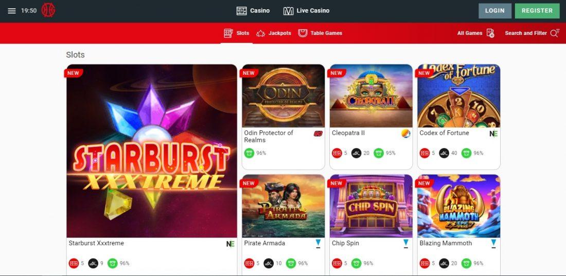 Genting Casino slots