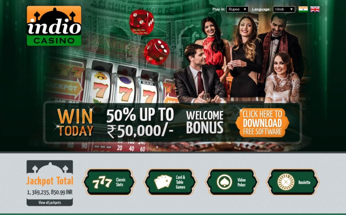 Indio Casino Welcome Bonus