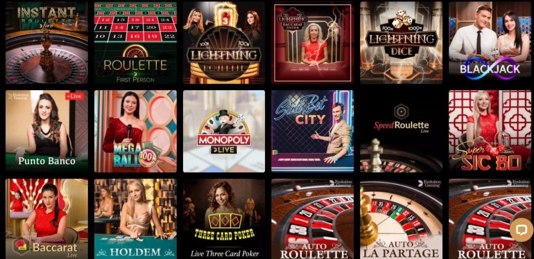 Kingdom Casino Live Casino