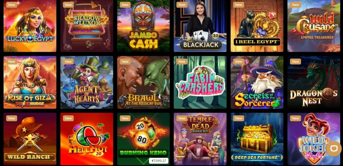 Kingdom Casino New games