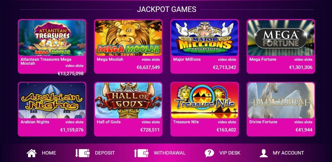 No Bonus Casino Jackpot