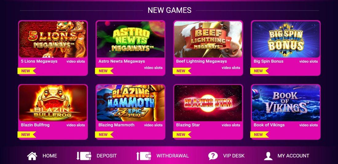 No Bonus Casino New Games