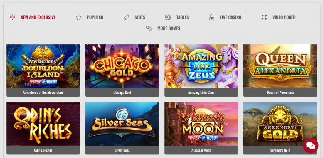 Platinum Play Casino New Games
