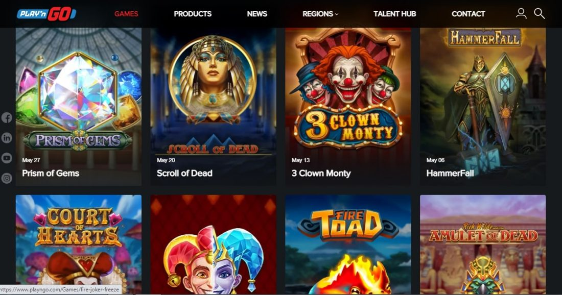 Play and Go Slots