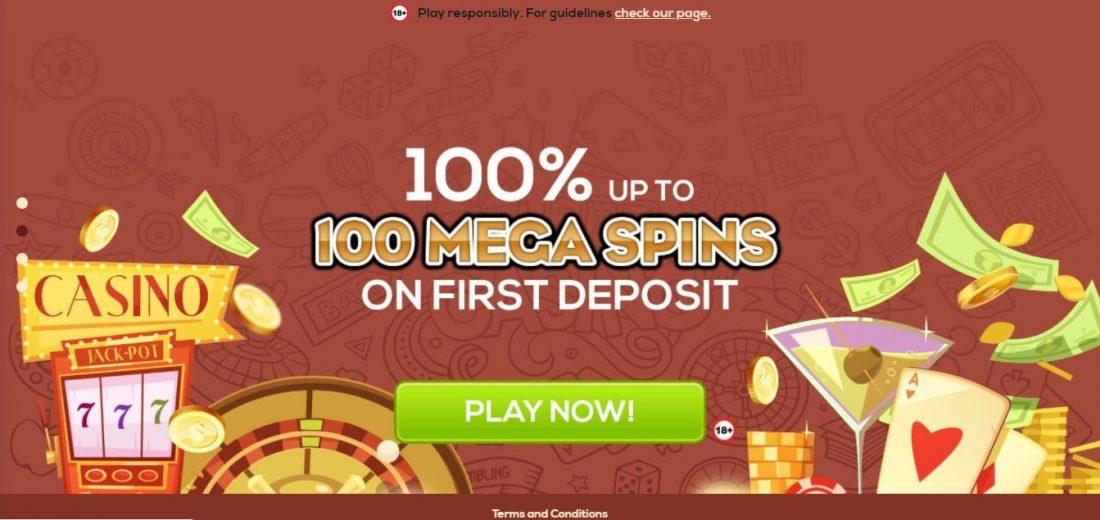 QueenVegas Casino Welcome Bonus