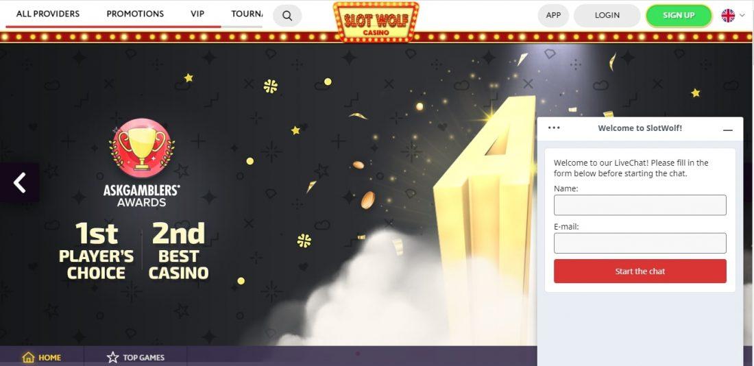 Slot Wolf Casino customer support