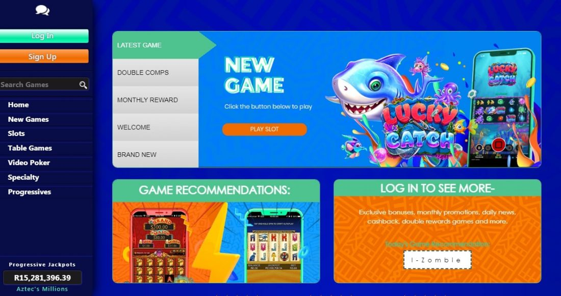 Thunderbolt Casino Mobile App