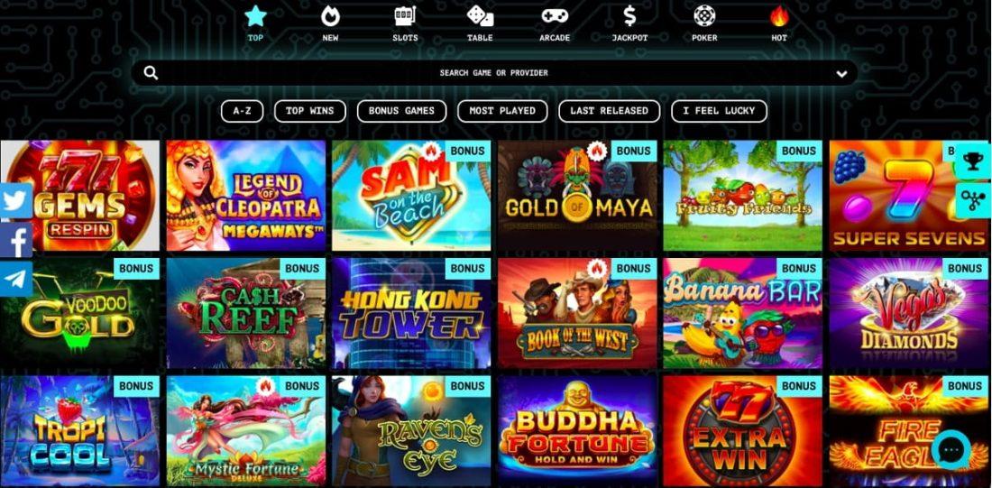 77Spins Casino Games