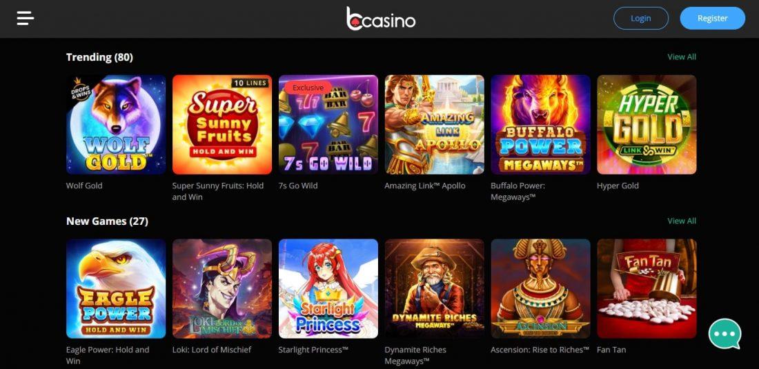 bCasino Games