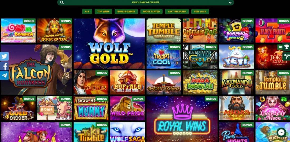 Comix Casino Games