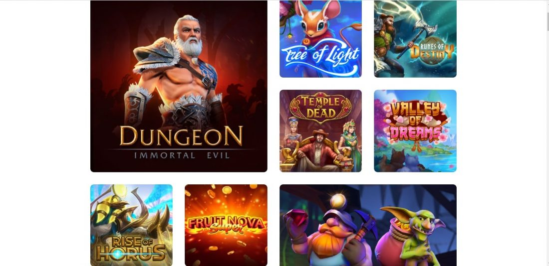 Evoplay Games Offered