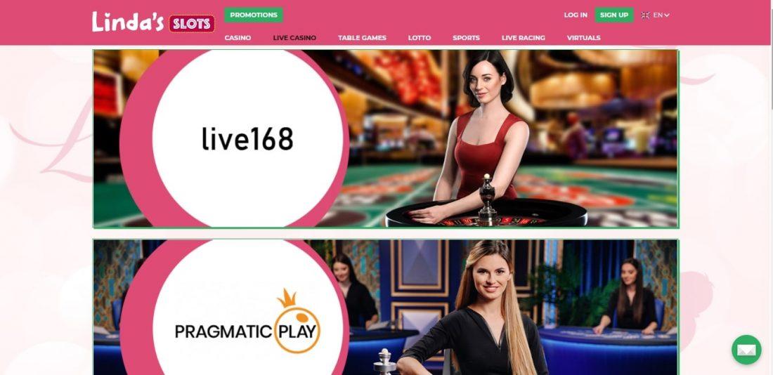 Lady Linda Live Casino