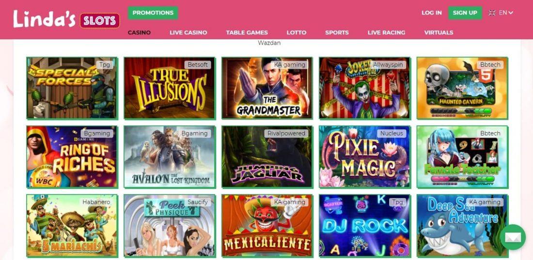 Linda's Slots Games
