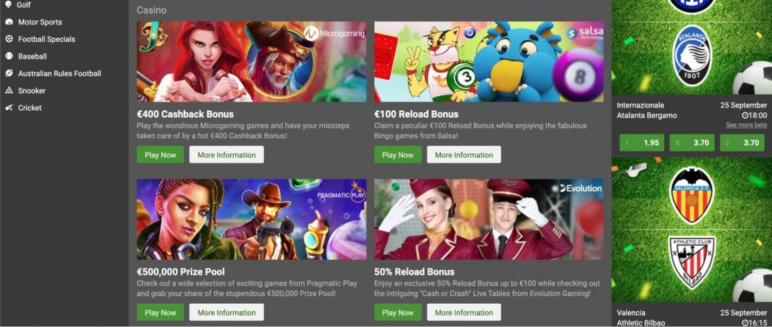 LSBet Casino Bonuses