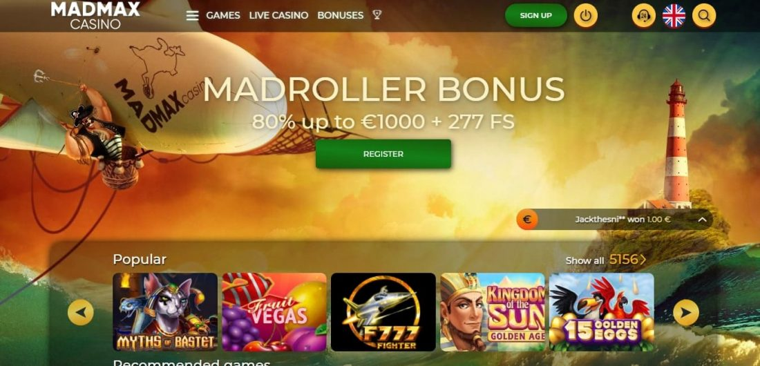 MadMax online casino