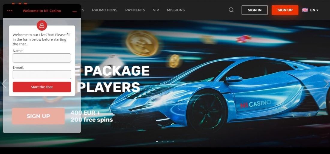 N1 Casino Customer Support