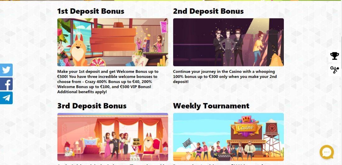PLayDingo Casino Welcome Bonus