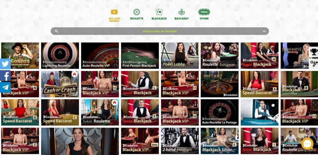 PlayDingo Live Casino