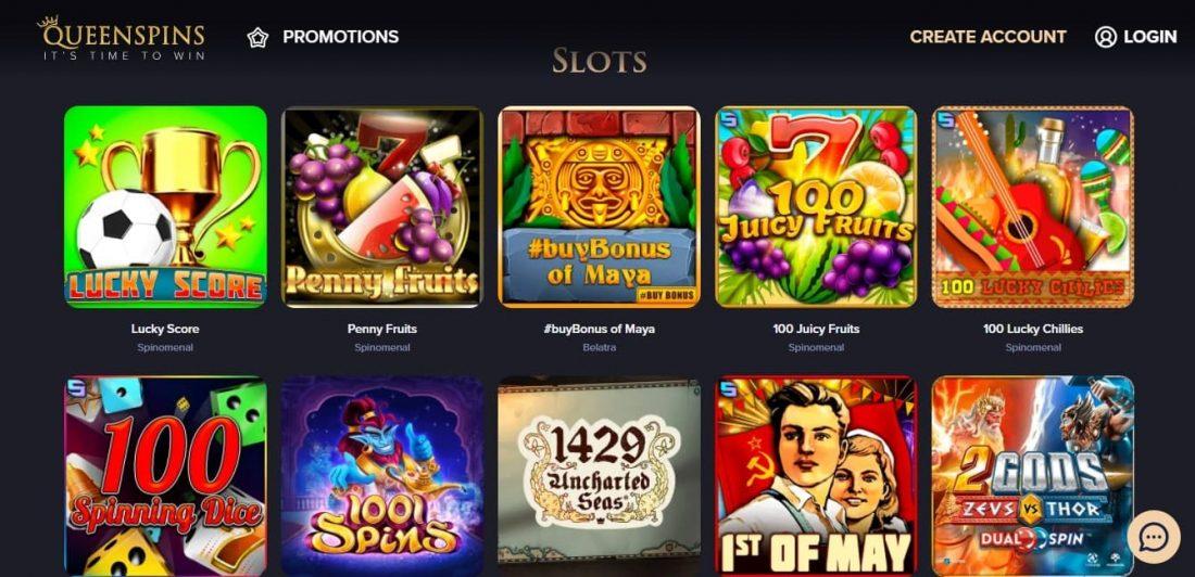 QueenSpins Slots