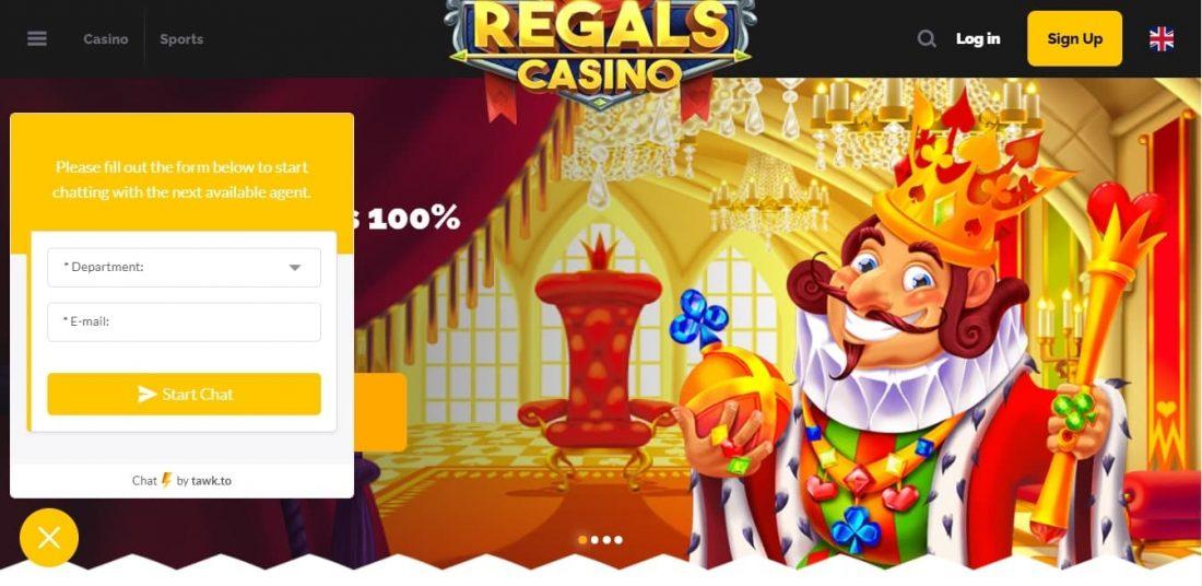 Regals Casino Customer Support