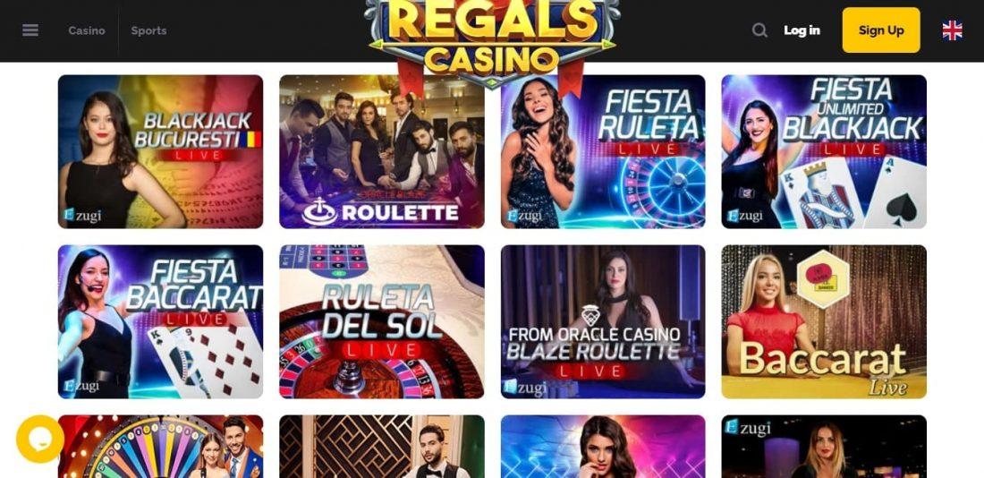 Regals Live Casino