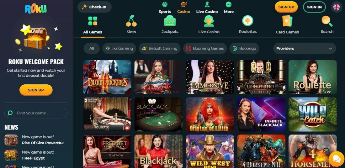 Roku Casino Games