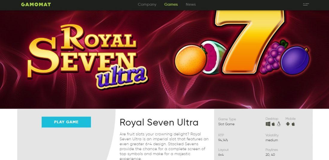 Royal Seven Ultra