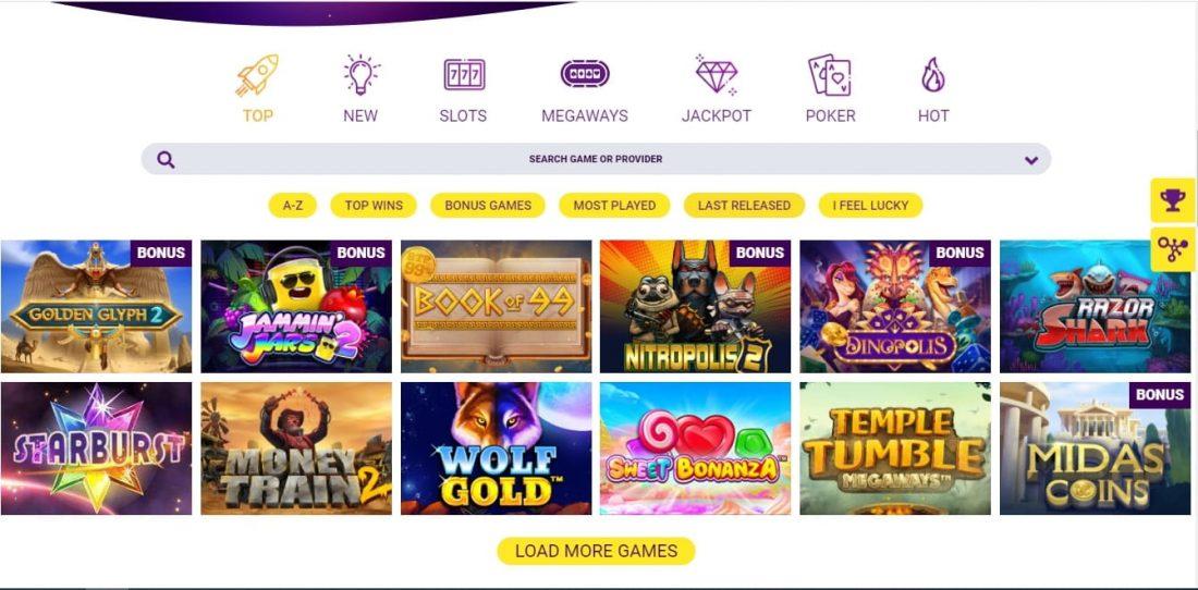 Slototop Casino Games