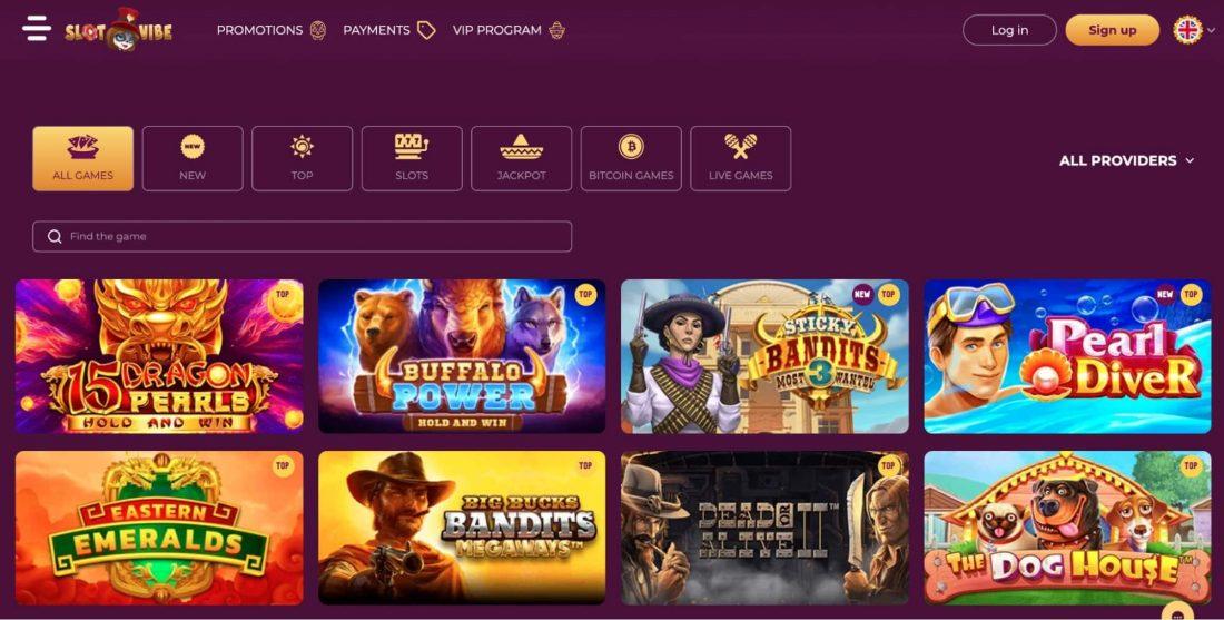 Slotvibe Casino Games