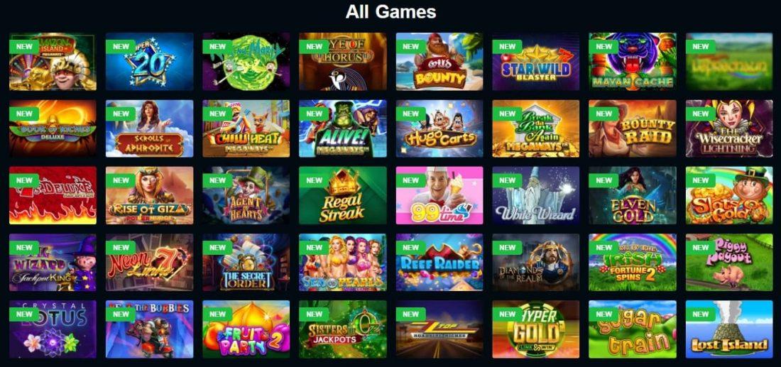 Slotzo Casino Games
