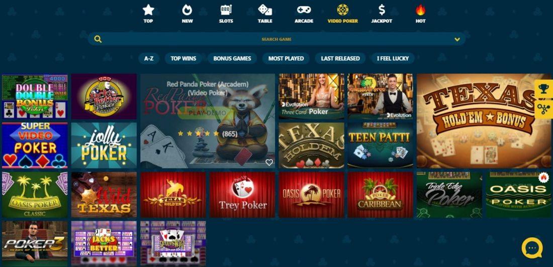 VipSpel Video Poker