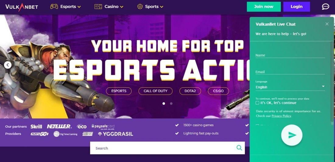 Vulkanbet Casino Customer Support