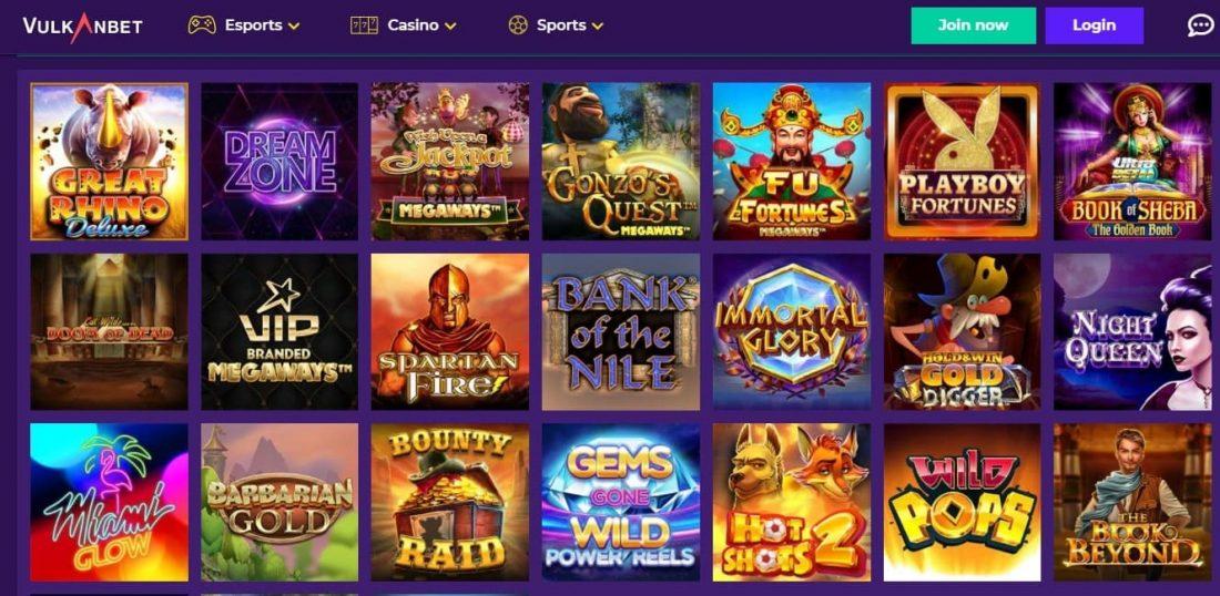 Vulkanbet Casino Slots