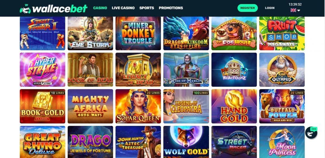 Wallacebet Casino Games