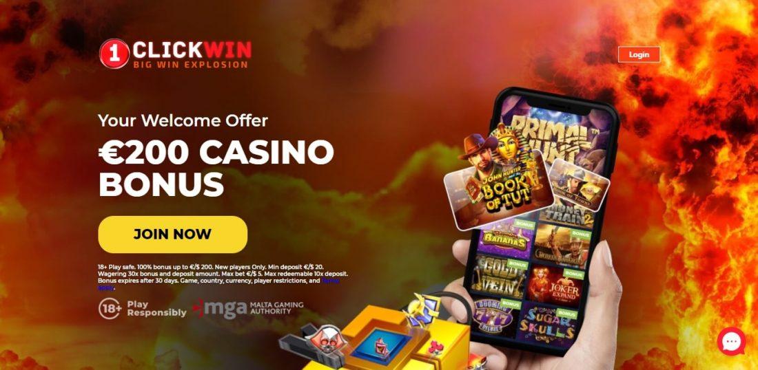 1ClickWin Casino