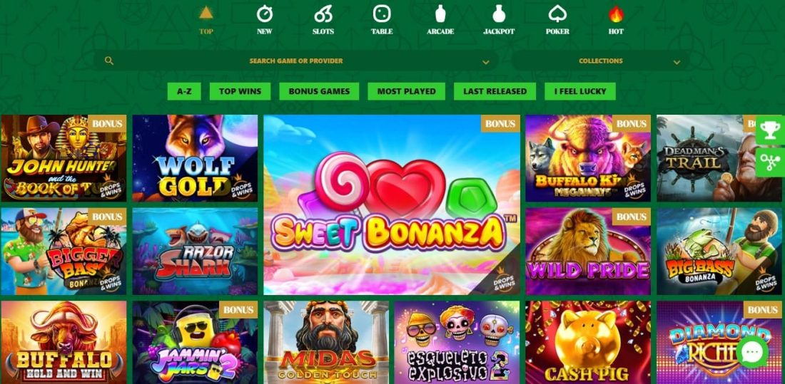 777 Stakes Casino Games