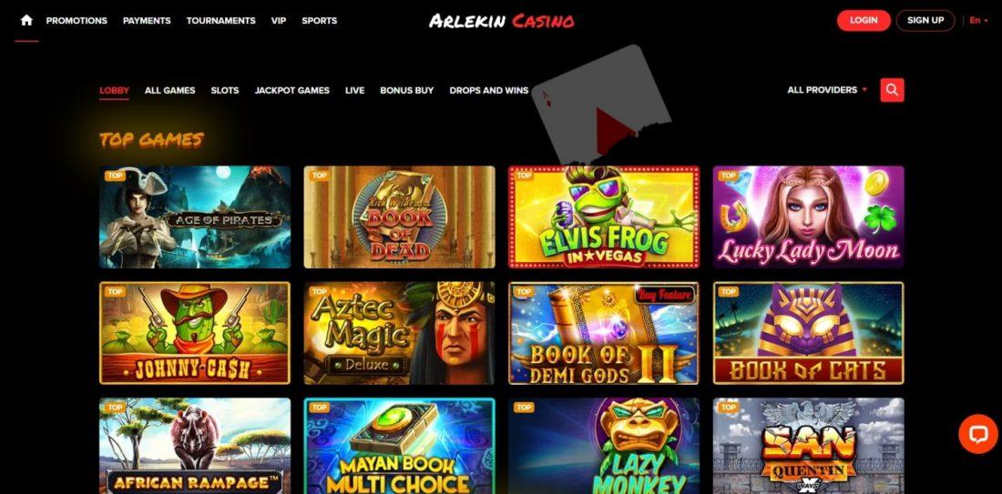 Arlekin Casino Games
