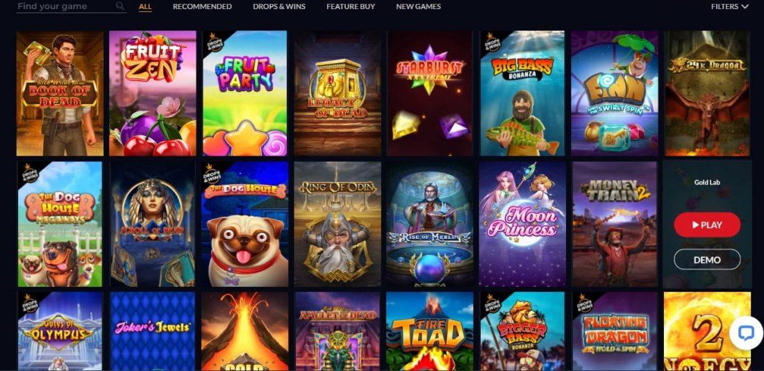 Goldwin Casino Games