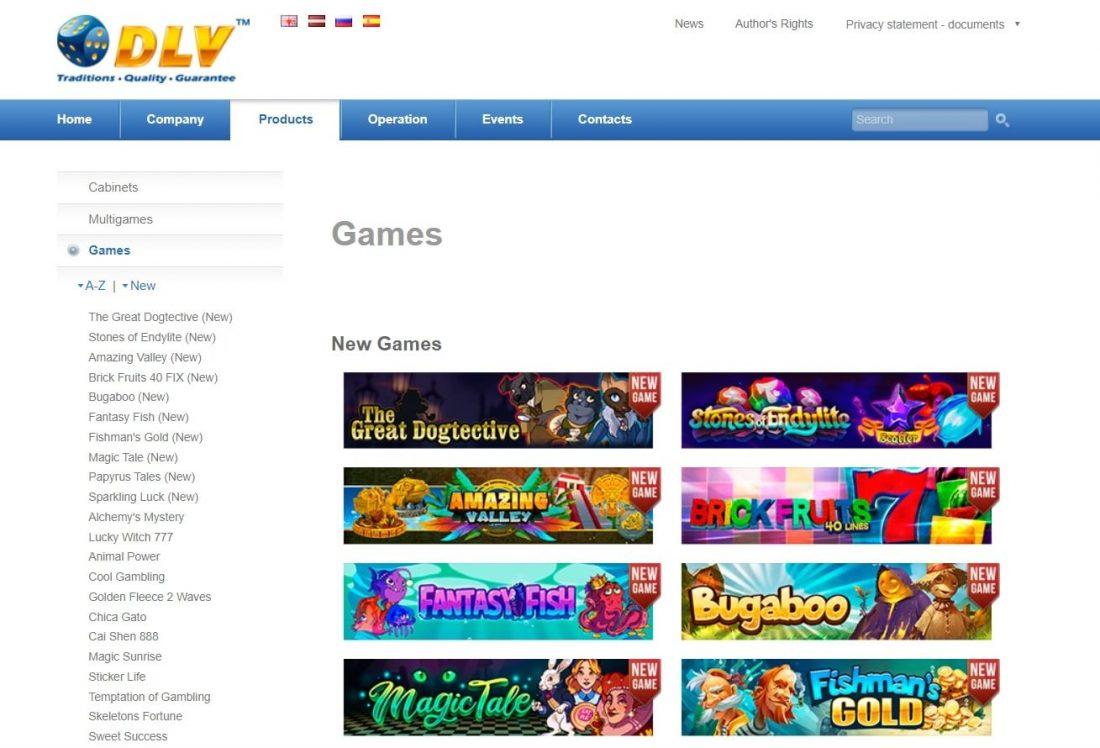 DLV Games