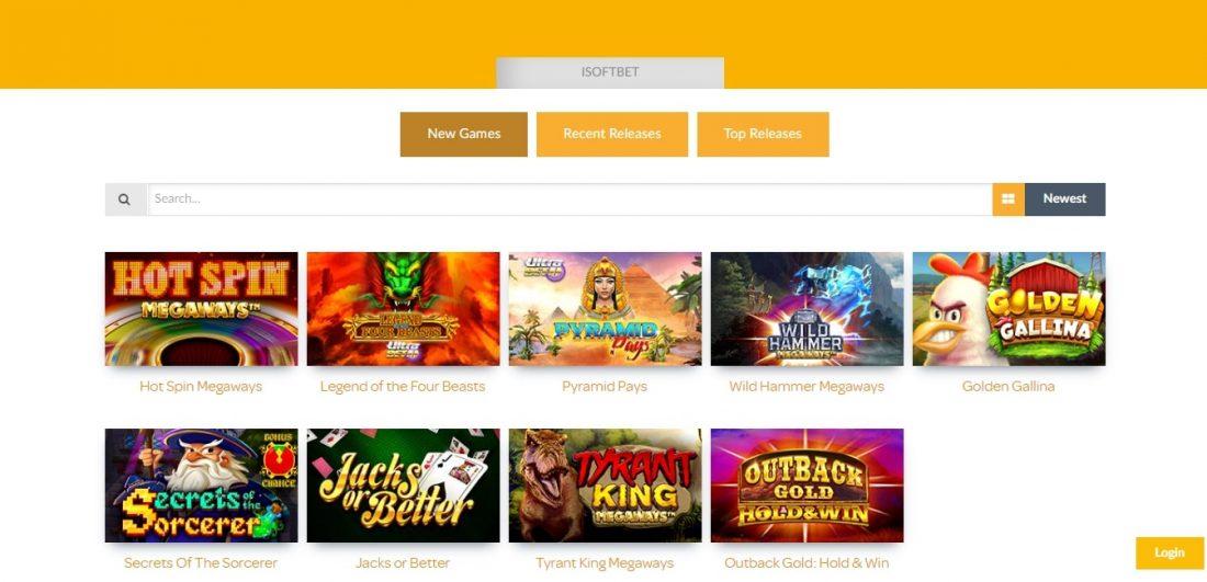 Isoftbet Gaming Games